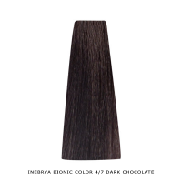 Inebrya Bionic Color, Matu krāsa 100 ml Nr. 4/7 Dark Chocolate