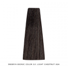 Inebrya Bionic Color, Matu krāsa 100 ml Nr. 5/1 Light Chestnut Ash
