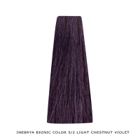 Inebrya Bionic Color, Matu krāsa 100 ml Nr. 5/2 Light Chestnut Violet