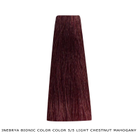 Inebrya Bionic Color, Matu krāsa 100 ml Nr. 5/5 Light Chestnut Mahogany