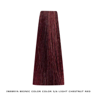 Inebrya Bionic Color, Matu krāsa 100 ml Nr. 5/6 Light Chestnut Red