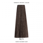 Inebrya Bionic Color, Matu krāsa 100 ml Nr. 6/1 Dark Blonde Ash