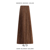 Inebrya Bionic Color, Matu krāsa 100 ml Nr. 6/3 Dark Blonde Golden