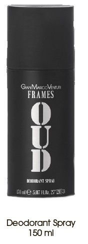 GMV Frames Oud Dezodorants spray 150 ml